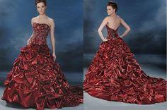 Fashion Blog,Dress Desinging,Fashion Nwes,Shoes,Handbags,Purses,Skin Care Tips,Nail Care,H: A Simple Red Wedding Dress Can Make Wonders