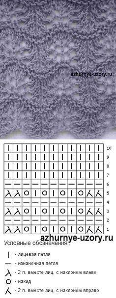 Lace knitting pattern Nr 143 by ophelia Lace Knitting Stitches, Crochet Stitches Patterns, Knitting Charts, Lace Patterns, Knitting Designs, Knitting Patterns Free, Knitting Projects, Stitch Patterns, Knitting Machine