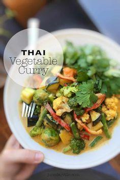 Thai Vegetable Curry Recipe | Simple. Tasty. Good.