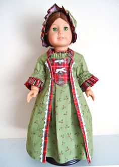 American Girl Doll Clothes Felicity by BackInTimeCreations on Etsy