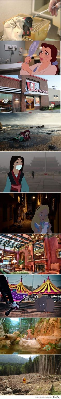 Disney in real world.