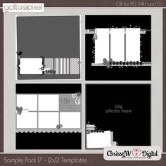 Sample Pack 17 - 12x12 Templates :: Gotta Pixel Digital Scrapbook Store http://www.gottapixel.net/store/product.php?productid=10002726&cat=&page=6