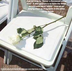 This prob a lot more classy a way to do it. Understated 💕 A nice way to honor a deceased loved one at your wedding! Wedding 2017, Fall Wedding, Rustic Wedding, Wedding Ceremony, Our Wedding, Dream Wedding, Wedding Dress, Wedding Stuff, Cruise Wedding