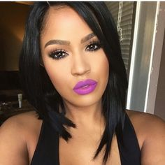 Pre-plucked Lace Front Wigs Brazilian Human Hair Short Bob Cut For Women Makeup Is Life, Beauty Makeup, Makeup Looks, Hair Makeup, Hair Beauty, Nice Makeup, Contour Makeup, Flawless Makeup, Flawless Face