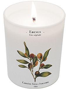 Carriere Freres - Ebenus (Ebony) Candle