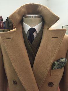Purwin & Radczun — Purwin & Radczun Bespoke Polocoat. Turnback Cuffs,...