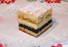 Fotorecept:Zákusok štedrák. Czech Recipes, Culinary Arts, Christmas Baking, Sweet Recipes, Cupcake Cakes, Eclairs, Sweet Tooth, Bakery, Sweet Treats