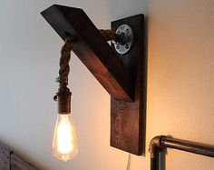 Rustic Wall Lamp