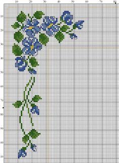 σχέδια με λουλούδια , αγριολούλουδα , παπαρούνες και τριαντάφυλλα για καρέ κεντημένα σταυροβελονιά  cross stitch flowers , wild flowers , p...