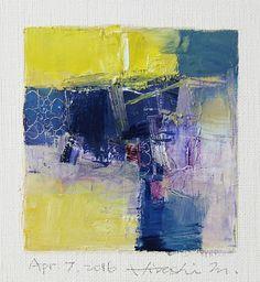 Hiroshi Matsumoto apr072016 oil on canvas 9x9cm