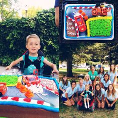 Cal Poly Chi Omega is so excited to grant Dane's wish of going to Disneyland! Here we are at his wish party in San Luis Obispo!