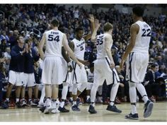 Xavier Muskies are finally able to celebrate a win. Lets hope they do it in the Crosstown shoot out!