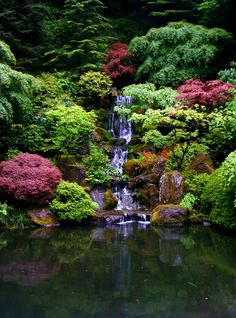 Japanese gardens Portland, Oregon  I love to visit here almost anytime of year.