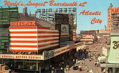 Atlantic City Boardwalk! #backintheday #longestboardwalk #nj #newjersey