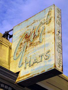 Gigi Hats, Richmond, VA | Flickr Neon Rainbow, Home And Away, Old Photos, Virginia, The Neighbourhood, Neon Signs, History, City, Nostalgia