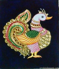 Buy Gift Option Size In Painting at Lowest Price by Sreekrishnaarts Giri Pichwai Paintings, Indian Art Paintings, Modern Art Paintings, Buddha Drawing, Buddha Painting, Kerala Mural Painting, Madhubani Painting, Indian Traditional Paintings, India Art