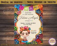 Visit the post for more. Mexican Birthday, Mexican Party, 2nd Birthday, Birthday Ideas, Digital Invitations, Birthday Invitations, Frida Kahlo Birthday, Mexican Invitations, Fiesta Baby Shower