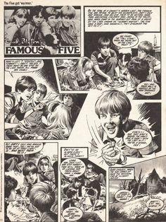 Famous five. So fancied Julian.