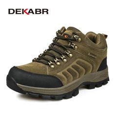 Waterproof Hiking Shoes Men Sneakers 2017 Brand Leather Outdoor Shoes Men Sport Trekking Walking Shoes Zapatos Hombre Size 39-46