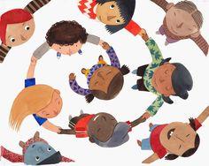 Ilustración de Karina Cocq. Mucho más diversión, aprendizaje y cultura para niños y para toda la familia en www.solerplanet.com