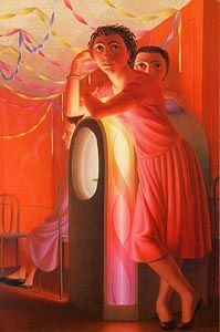 Jukebox. George Tooker