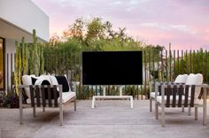 Heckler TV Stand Helps Take the TV Off the Wall - Design Milk
