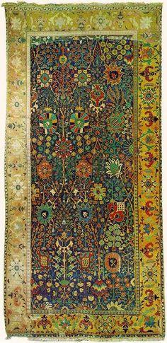 Iranian carpet Shah Abbas design 16th c.