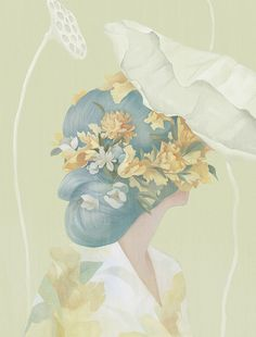 Hsiao Ron Cheng's Recent Portraits | Hi Fructose Magazine in Paint & ink