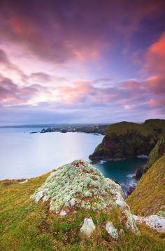 God's glory in Creation- sunrise over Scotland.