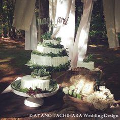 Wedding_Cakekaruizawa garden Wedding_ハワイウエディング_produced by AYANO TACHIHARA Wedding Design 軽井沢ガーデンウエディング、邸宅ウエディング