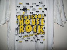 Skoolhouse Rock Minoritees Unisex Teeshirt