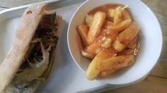 Philly cheese steak and poutine, Bread & Meat, Cambridge