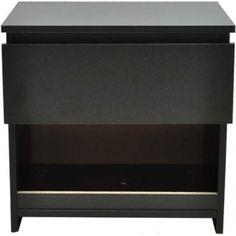 Gezien op Beslist.nl: Nachtkastje hout zwart (set van 2) Nightstand, Table, Furniture, Home Decor, Products, Decoration Home, Room Decor, Bedside Cabinet, Night Stands