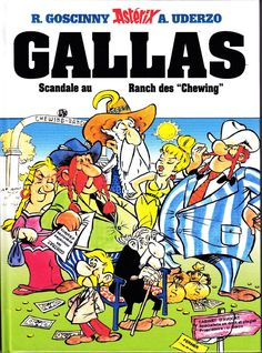 [fake] ASTERIX PASTICHE INEDIT GALLAS SCANDALE AU RANCH DES CHEWING