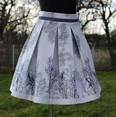 Plated skirt, free pattern to print