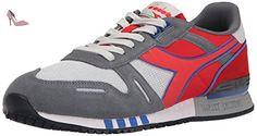 Diadora Titan 2 Grise Et Rouge Rouge 41 - Chaussures diadora (*Partner-Link)