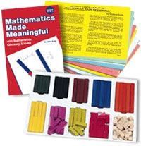 I like the wooden set, but would love to find it on sale.  Cuisinaire Rods and Fraction Stacks are favorites in our house.