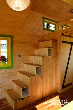 The Bumblebee: an eco-friendly tiny house from Romanian tiny home builder, Tiny Wunder House.
