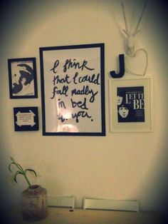 Roomspiration by my sister!
