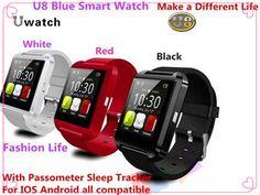 Bluetooth Smart Watch Armbanduhr U8 U-UHR Smartwatch Sport Armbanduhren für iPhone Samsung Android Phone Smartphone //Price: $US $20.99 & FREE Shipping //     #meinesmartuhrende