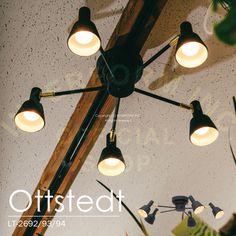 ミニマルなデザインでクールな印象のシーリングライト。。Ottstedt [ オットシュテット ] シーリングライト ■ 天井照明 【 インターフォルム 】