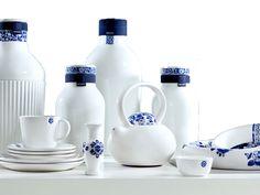 Royal Delft vernieuwt zichzelf met de collectie Blue D1653. Delfts Blauw, maar dan anders.