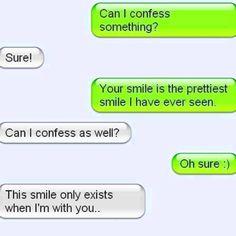 Precious text messages <3
