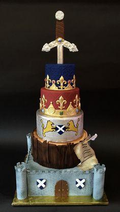 Mistwood Wedding Cak