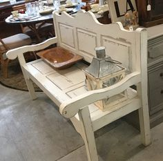NC Furniture Wholesalers - Shabby Chic Bench | #furniture #shabbychic #shabbychicfurniture #hampsteadnc #wilmingtonnc