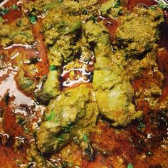 #Chicken curry in cashew paste n other spices