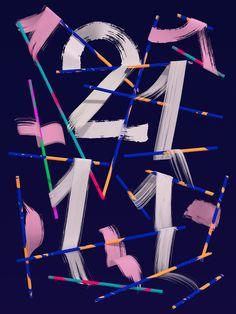 Santtu Mustonen —Hugo & Marie #typography #colour