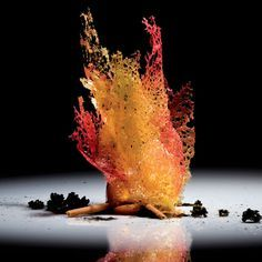 Still trying to find out what exactly this dish is. One of  Ferran Adrià creations.