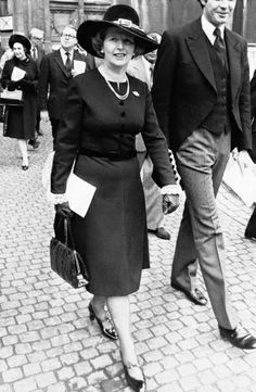 She's got it: Margaret Thatcher
