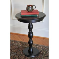 "Carolina Accents Spindle End Table 23"" H x 15.75"" W x 15.75"" D $67"